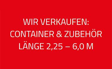 Sicher einlagern: Materialcontainer in  Ditzingen
