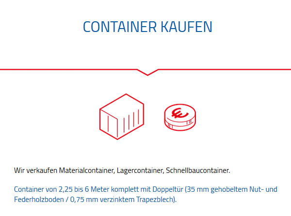 Container Kaufen  in 74182 Obersulm